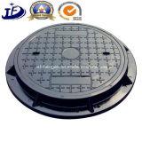 Gussteil-Fertigung-duktiler Eisen-Einsteigeloch-Deckel des Sand-En124/Einsteigeloch-Deckel