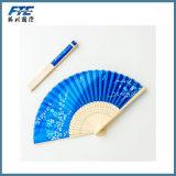 I ventilatori cinesi su ordinazione della mano retro piegano in su smazza