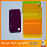 Het acryl Gegoten Plastic AcrylComité PMMA van het Comité Kleur