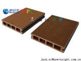 Decking composto plástico de madeira de bloqueio impermeável de 137*23mm