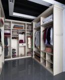 Garderobe van het Meubilair van de Slaapkamer van de Garderobe van de Stijl van U van Cartagena de Moderne Witte Houten (CA01-04)