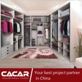 Cartagena U Style Cloakroom White Wood PVC Bedroom Wardrobe (CA01-04)