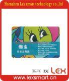 Cartões da identificação do PVC do plástico da sociedade da impressão colorida