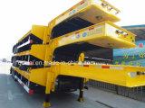 60 ton 3 Oplegger van het Bed van Assen de Lage