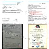 Ánodo sacrificatorio del cinc del certificado de la ISO