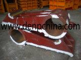 Manganês elevado Mn13 Cr2 da placa da placa S da maxila PE250*400