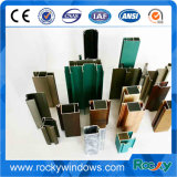 6063 perfis T5 de alumínio para a porta deslizante com vário tratamento de superfície