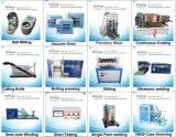 Máquina hidráulica de escritorio del lacre para el Li-ion Cylindrial 18650 laboratorio Gn-Msk-510 del R&D de 26650 series