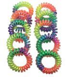 Geassorteerde Kleuren en Materialen met de Toebehoren van het Haar van het Koord van de Telefoon van Drukken
