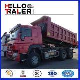 HOWO 30tonの貨物自動車のダンプトラック336HPのディーゼル機関のダンプトラック