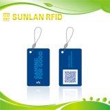 Nfc etiqueta o cartão de RFID para o controle de acesso com a amostra livre