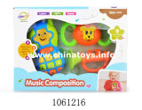 Plastic Cartoon Baby Toy Ring Telefone celular com música (1061229)