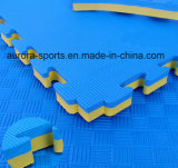 Couvre-tapis de séance d'entraînement d'EVA Taekwondo de couvre-tapis de puzzle enclenchant des couvre-tapis de puzzle d'étage