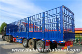 3 de Semi Aanhangwagen van de Staak van het Vervoer van de Lading stortgoed van assen