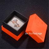 Embalaje del rectángulo de papel de la joyería del regalo del papel de la cartulina de Soild para el anillo, pendiente, colgante