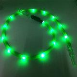 De Slang van Shisha van de Waterpijp van het nieuwste 1.8m Groene LEIDENE Silicone van het Flitslicht (S-hh-015-1)