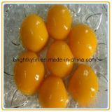 Os melhores pêssegos amarelos enlatados de China