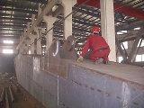 강철 구조물 제작 기중기 지브