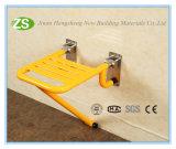 Asiento montado en la pared de la ducha del asiento de la ducha del plegamiento del acero inoxidable de Nylon/ABS/del asiento de tocador