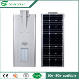 Novo produto inteligente integrado Solar LED Street Road Lamp