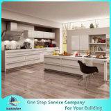 La cabina de cocina moderna de los estilos PVC/Laquer/Melamine/UV diseña puertas