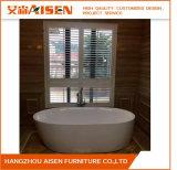 Hangzhou-fördernder Plantagebasswood-Blendenverschluß wie hölzerne Vorhänge