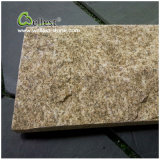 Tiger-Haut-Quarzit-natürlicher Riss Rockface Wand-Stein