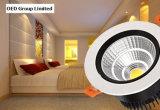 proyector del techo de 3W 5W 7W 10W 12W 15W 20W 25W 30W 40W 50W LED para el hotel y la sala de reunión