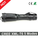 Hot Sale CREE Xml-T6 Lanterna 5 Modes Zoomable LED Light Torch