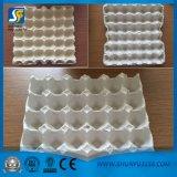 Bandeja do ovo que faz a linha de produção, máquina Waste da bandeja do ovo da celulose, linha de produção da placa