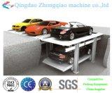 2개 수준 간단한 드는 유형 주차 장비 주차 시스템