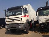 China preiswertes 6X4 Beiben 10 Wheels Van Cargo Truck