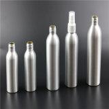 Bouteille cosmétique en aluminium d'huile essentielle à l'action
