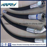 "Dn3/4 "" SAE100 R1 bei Wire Braided Hydraulic Rubber Hose 105bar"
