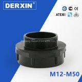 Amplie o adaptador de rosca para o prensa-cabos M12-M50