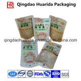 Мешок пластичный упаковывать изготовления оптовым изготовленный на заказ прокатанный печатание материальный
