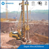 Équipement de foret rotatoire hydraulique de TR360D pour la construction de base