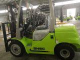 ロジスティクスの機械装置のフォークの揚げべら販売のための3トンのディーゼルフォークリフト