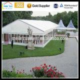 Cheap Big Aluminium PVC Luxury High Peak Grande Evento para festa móvel Evento de PVC branco Evento de pagoda de alumínio Loja de casamento chinês