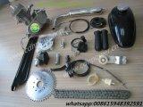 """80cc 26 """"か28 """"バイクの自転車は2回の打撃のサイクルモーターエンジンキットの一定の銀にモーターを備えた"""