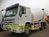 HOWO 10 ruedas de camión mezclador de concreto de 10 Metros Cúbicos con Eaton bomba y el motor