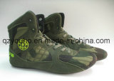 Camo Men's Women's Gym Shoes Weightlifting Bodybuilding Gym Shoes Trainer