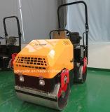 Mini rullo compressore del mini costipatore vendibile d'oltremare, doppio motore del Giappone del rullo del timpano (FYL-900)
