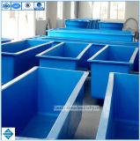 Réservoir de pisciculture en verre de fibre de réservoir de poissons de FRP