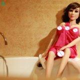 Petite poupée de sexe de silicones de sein avec le squelette Jl125-02 en métal de bande