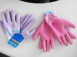 면 내부고정기 쉘 유액 3/4 입힌 니트 손목 안전 일 장갑 (L1803)