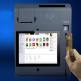 10inch All in Ein Touch Stellung Terminal mit Printer/WiFi/3G/NFC/Camera/Bt/Magcard und IS-Card Reader