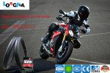 Câmara de ar interna da motocicleta elevada da borracha natural dos por cento (2.75-18)