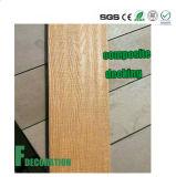 Decking en plastique en bois du stratifié WPC de composé de coextrusion extérieure