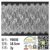 Knitted en nylon Eyelash Lace pour Wedding Dress